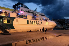 Canceladas más de treinta conexiones marítimas entre las Pitiusas por el mal tiempo