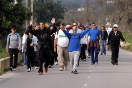 Solidarios en ruta por Sant Antoni