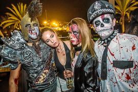 Una noche terrorífica y divertida en Heart Ibiza