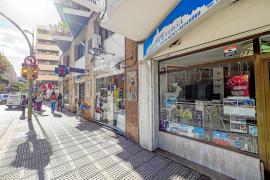 Vecinos y comerciantes de Vila lamentan la «mala imagen» que ofrece la ciudad cada vez que llueve