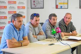 Trabajadores del servicio de limpieza de Sant Antoni denuncian a la UTE Portmany por «irregularidades»