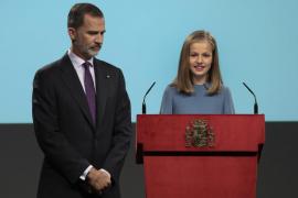 Princesa Leonor interviene por primera vez en un acto oficial