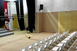 Clausurado el auditorio del Conservatorio de Ibiza por el mal estado de las instalaciones