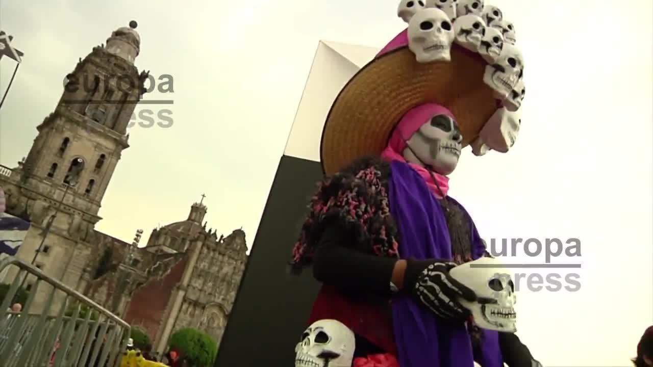 Vídeo | México celebra su tradicional Día de los Muertos