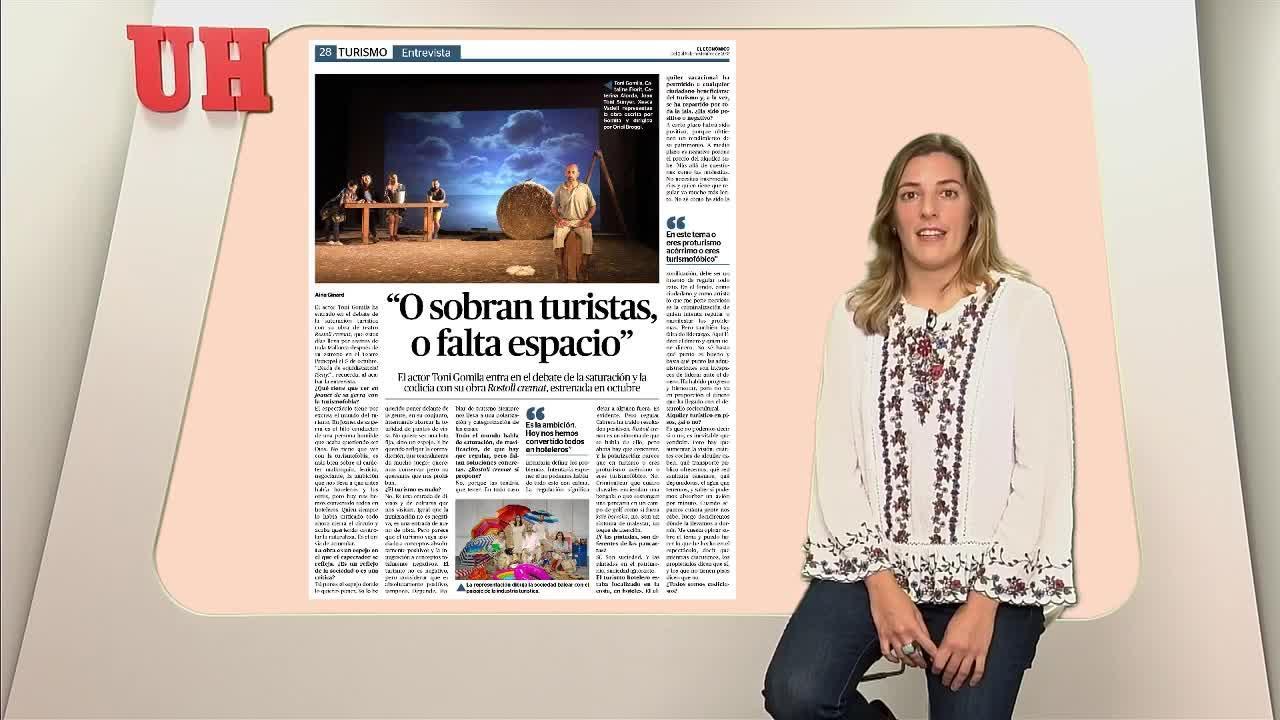 """O sobran turistas, o falta espacio"""