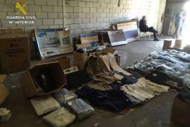 La Guardia Civil desarticula una organización criminal dedicada al robo en camiones