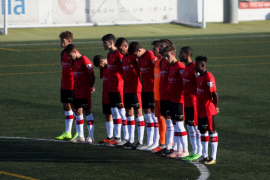El partido entre la Peña Deportiva y el Mallorca B, en imágenes (Fotos: Daniel Espinosa).