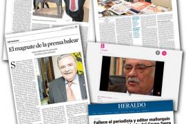 La prensa nacional elogia a Pere A. Serra