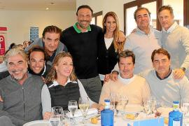 Lluvia y deportividad en el Torneo de Golf Air Europa