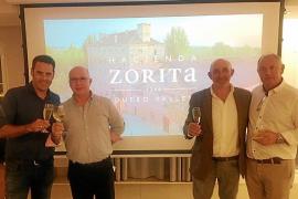 Presentación de los vinos de Marqués de la Concordia y la gama de quesos e ibéricos de Hacienda Zorita