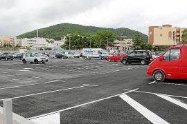 Santa Eulària abre 200 nuevas plazas de estacionamiento en Cas Capità