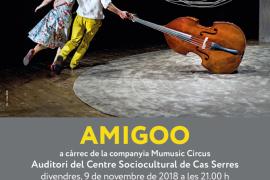Salen a la venta las entradas para ver 'Amigoo' en el auditorio de Cas Serres