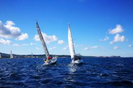 'El Gaitero', del CN Ibiza, y el 'Carlos I', del CNSA, reinan en las aguas ibicencas