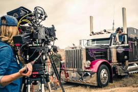 La directora de fotografía ibicenca Helher Escribano, candidata a los Goya por la película «Downunder»
