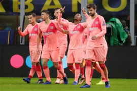 El Barça, a octavos aunque perdona a un Inter sufridor