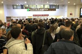 Restablecida la circulación del AVE en Sants de Barcelona tras detenerse por un objeto sospechoso
