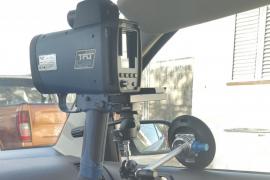 17 denuncias por exceso de velocidad con el nuevo radar portátil de Sant Antoni