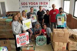 SOS Refugiados Ibiza envía nueve palets de ayuda humanitaria con comida y medicinas a Grecia