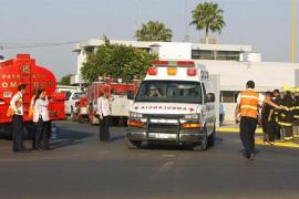 Mueren al menos nueve personas al impactar un camión contra varios vehículos en México