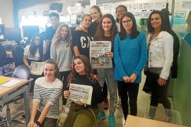 Los alumnos del IES Sa Colomina «se apuntan» al mundo de la comunicación