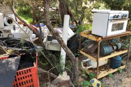 El GEN-GOB denuncia acumulación de residuos en la zona des Forn des Saig de Sant Carles.