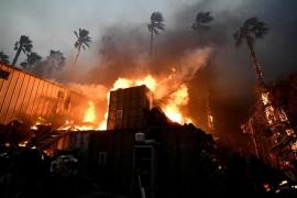 Los incendios más destructivos de la historia de California dejan ya nueve muertos y 35 desaparecidos