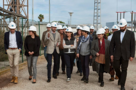 Comienzan las obras del cable entre Menorca y Mallorca