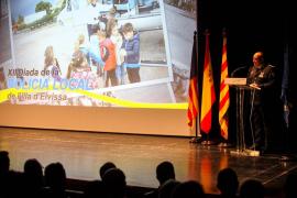 Reconocimiento a los policías locales de Ibiza