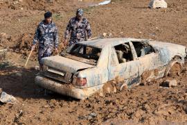Impactantes imágenes de las inundaciones de Jordania