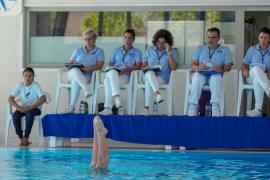 Las mejores imágenes del Campeonato de Baleares de natación sincronizada  (Fotos: Marcelo Sastre).
