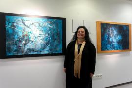 La inauguración de la exposición 'trenca el concepte' de Josefina Torres, en imágenes (Fotos: Daniel Espinosa).