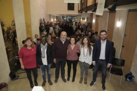 Mayoría de afines al núcleo del PSM en las listas de Més al Parlament y Consell