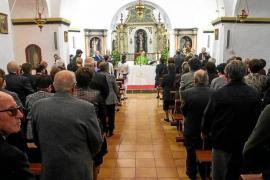 Misa y ball pagès en homenaje a los mayores de Santa Gertrudis