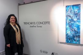 Josefina Torres 'trenca el concepte' en su nueva exposición en Can Jeroni