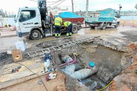 La desaladora de Vila no funcionará hasta que se arregle la rotura de la tubería de Talamanca