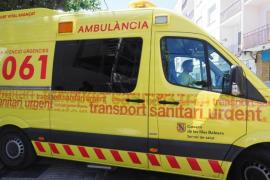 Un joven de 17 años resulta grave tras sufrir un accidente en moto en Ibiza