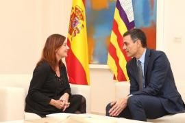 """Sánchez se compromete con Armengol a aprobar el REB de forma """"inminente"""""""