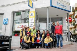 Los trabajadores de Correos en las Pitiusas exigen mejorar el servicio al ciudadano