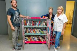 El Centro de Salud de Vila apuesta por la lectura para hacer más amenas las esperas