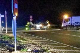 Una mujer fallece tras ser embestida por un coche en ses Païsses