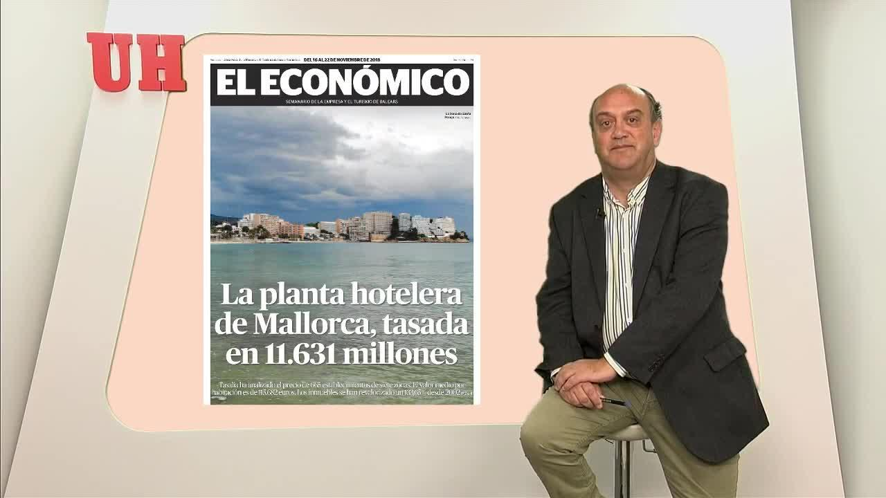 La planta hotelera de Mallorca vale 11.631 millones de euros