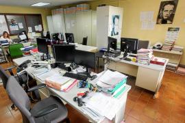 Un centenar de trabajadores de Justicia de Ibiza secundan la primera huelga en 20 años