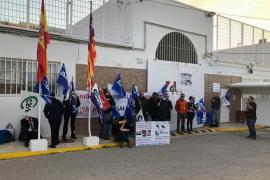 Los trabajadores de la cárcel de Ibiza secundan la huelga de prisiones