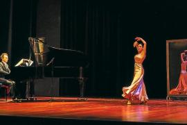 Brillante y emotivo recital de Nieves Portas y Jaime Hidalgo en Cas Serres