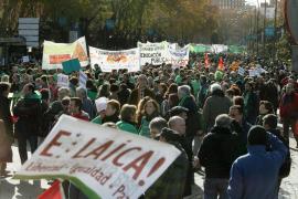 La 'marea verde' toma las calles de Madrid contra los recortes en educación