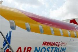 La huelga de los pilotos de Air Nostrum afecta al 100% de los vuelos con destino a Baleares