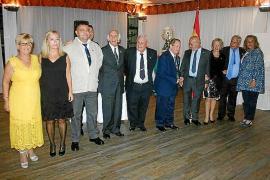 Cena de la asociación de antiguos alumnos de los colegios de la Guardia civil