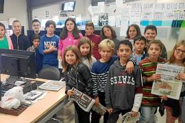 Estudiantes del CEIP Sant Antoni se adentran en el mundo del periodismo