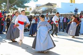Santa Gertrudis celebra la jornada más 'pagesa' dentro de sus fiestas