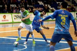 El Palma Futsal saca su billete para la Copa de España tras vencer al Peñíscola 'in extremis' (2-1)